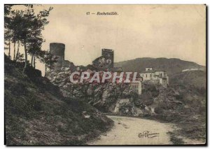 Old Postcard Chateau Rochetaillee