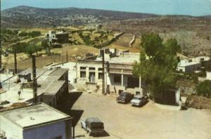 lebanon, حاريص HARISS HAREES, Town View, Cars (1980) Dutchbatt Military Mail
