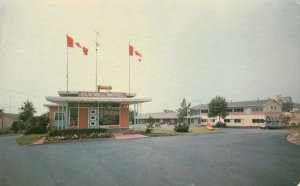 BLIND RIVER , Ontario, Canada, 1950-70s ; Old Mill Motel Version-2