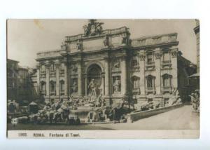 151877 Italy Rome ROMA Fountain Fontana di Trevi Vintage NPGPC