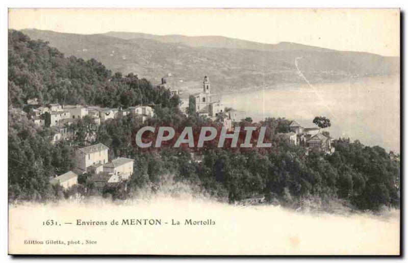 Menton - Surroundings - The Mortolla - - Old Postcard