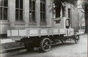 Old Delivery Truck c1920 Image KODAK Real Photo Postcard c1950s-70s #4