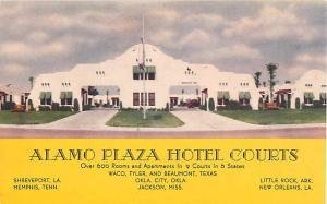 D/B Alamo Plaza Hotel Courts in 6 States