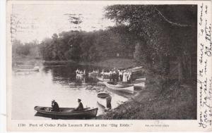 CEDAR FALLS, Iowa, PU-1907; Part of Cedar Falls Launch Fleet At The Big Eddy