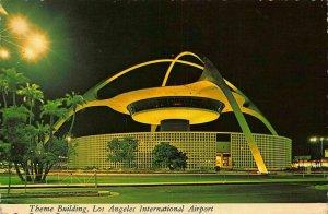 Theme Building Los Angeles International Airport Postcard