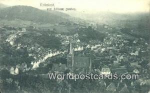 Biedenkopf Germany, Deutschland Postcard Schlosse Gesehen Biedenkopf Schlosse...