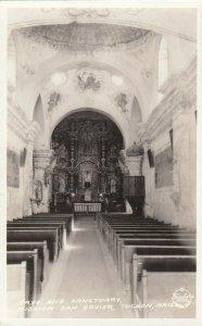 RP: TUCSON , Arizona , 1940s ; Mission San Xavier, Sanctuary , FRASHERS