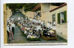 424415 PORTUGAL MADEIRA Funchall Mount Path Car Laical Educational Institution