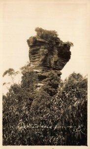 Australia Katoomba Orphan Rock real photo Postcards