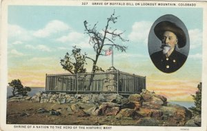 LOOKOUT MOUNTAIN, Colorado, 1910-1920s; Grave of Buffalo Bill