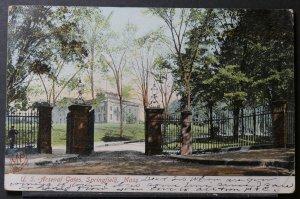 Springfield, MA - US Arsenal Gates - 1906