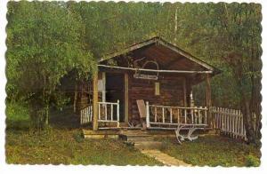 Robert W. Service's Cabin, Dawson City, Yukon, 40-60s