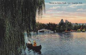 Scene in Echo Park,  Los Angeles, California, 00-10s