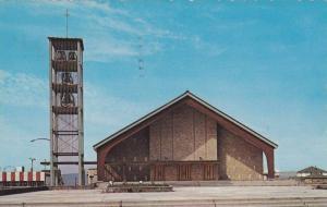 L'eglise St Joseph , SEPT-ILES , Quebec,  Canada , PU_1971