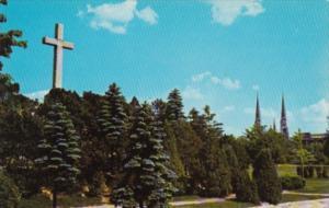 Canada La croix du Parc Sauve Valleyfield Quebec