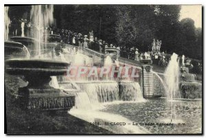 Postcard Old St Cloud La Grande Cascade
