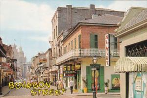 Louisiana New Orleans Bourbon Street