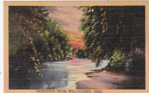 Ohio Greetings From Willoughby