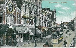 VINTAGE POSTCARD: GB : WALES - Cardiff 1912