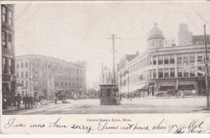 Central Square, LYNN, Massachusetts, PU-1906