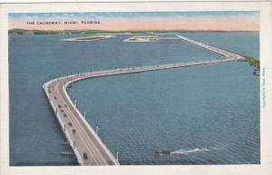 Air view,The Causeway, Miami,Florida,30-40s