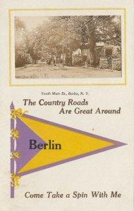 RP: BERLIN , New York , 1900-10s ; South Main Street