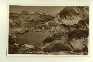 tp7599 - Somerset - Looking down onto Tunnels Bathing Cove, Ilfracombe- Postcard