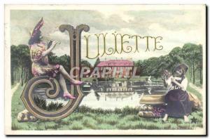 Postcard Old Juliette Surname