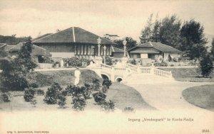 Indonesia Ingang Vredespark te Koetaradja 03.74