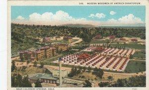WOODMEN, Colorado, 1910-20s; Modern Woodmen of America Sanatorium
