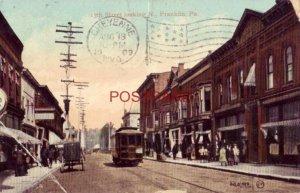 1909 13th STREET LOOKING N., FRANKLIN, PA.