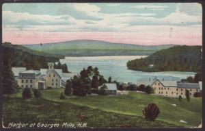 Harbor at Georges Mills,NH Postcard