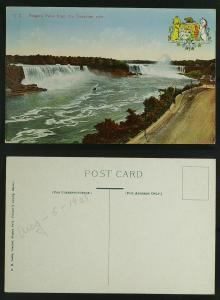 Niagara falls from Canadian side c 1920s