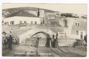 RP  NAZARATH. Arab women at Virgin's Fountain, Israel, 00-10s