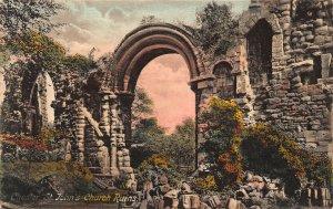 Chester St John's Church Ruins Postcard