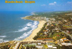 Postcard Manaba Beach, Margate, Natal South Coast, South Africa at Night A89
