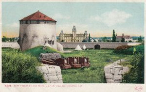 KINGSTON, Ontario, Canada, 1901-07; Fort Frederick and Royal Military College
