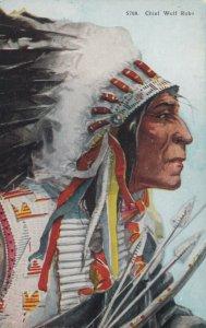 Chief Wolf Robe , 1900-10s