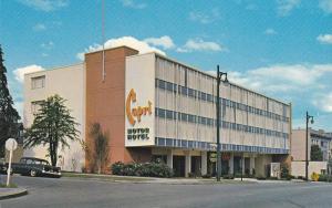 Capri Motor-Hotel , VANCOUVER , B.C. , Canada,  50-60s