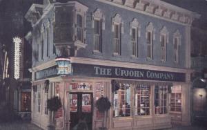 USA, The Upjohn Company drugstore in Disneyland, 1964 used Postcard