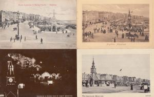 Brighton Aquarium 4x Bundle Of Postcard s