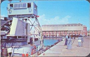 Pensacola FL - Crash Boat basin at the US Navy Air Station, 1950s