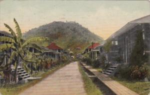 Panama Pedro Miguel Street Scene 1920