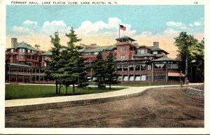New York Adirondacks Lake Placid Forrest Hall Lake Placid Club 1934