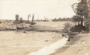 RP: Copper Harbor LIGHTHOUSE , Michigan , 1920-30s