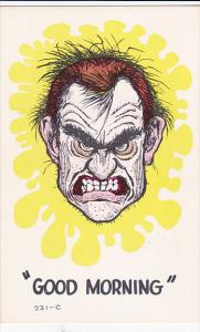 Comic, Good Morning Man's Angry Face, 40-60s