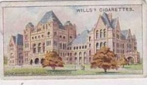 Wills Vintage Cigarette Card 1914 Overseas Dominions Canada No 43 Government ...