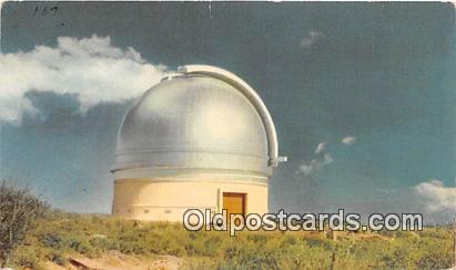 Space Postcard Post Card Palomar Mountain, CA, USA Mt Palomar Observatory Spa...
