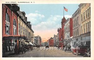 Main Street Gloversville NY Unused