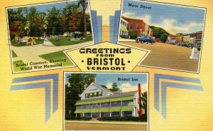 Greetings from Bristol, Vermont